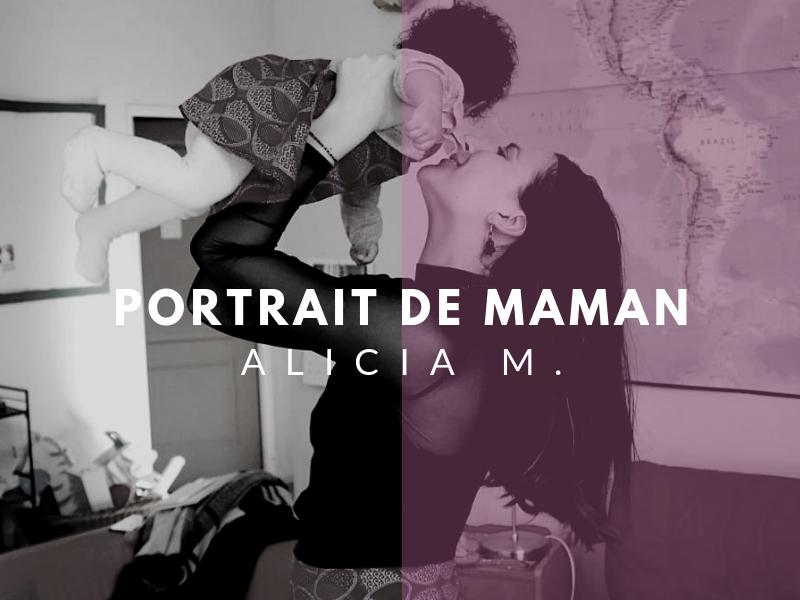 portraits de maman alicia