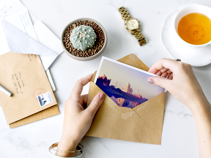 carte postale format photoweb