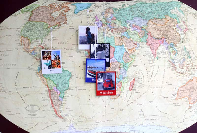 diy photos vacances polaroid