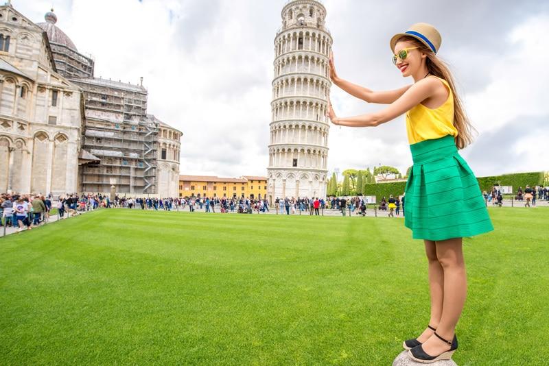 tour de pise italie