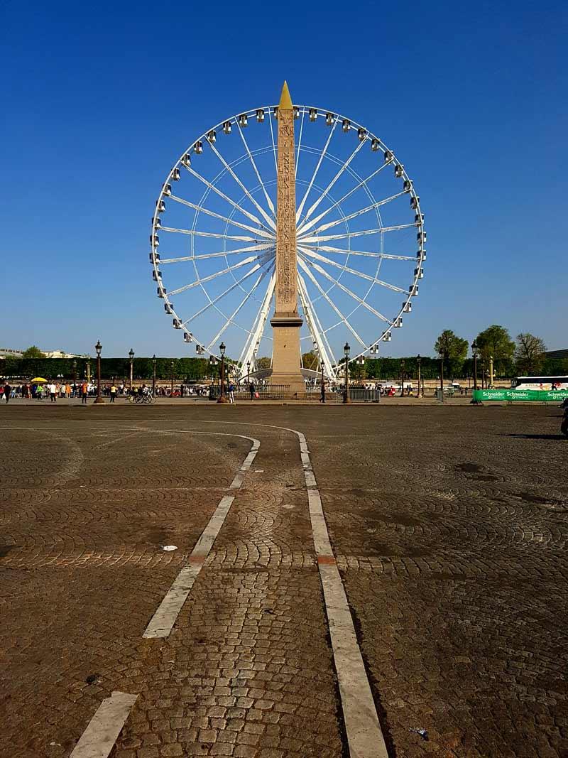 Marathon paris course