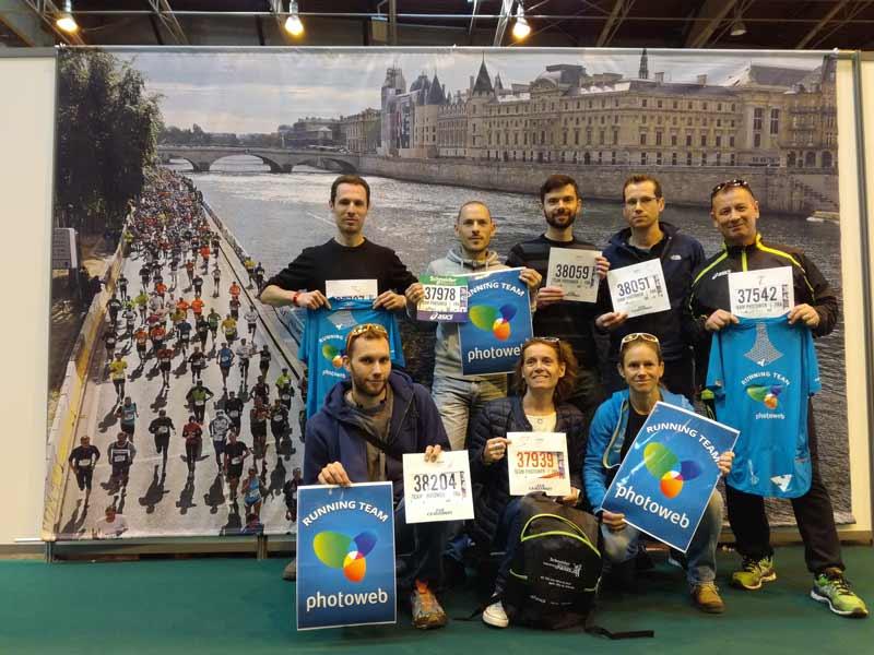 Marathon paris dossard
