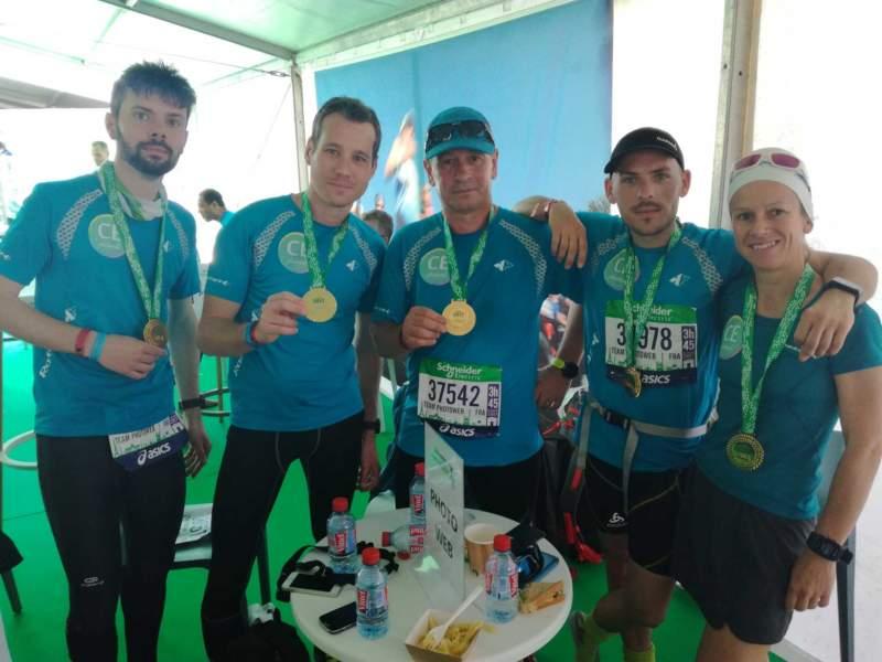 Marathon paris finaliste