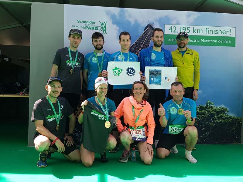 Marathon paris récompense