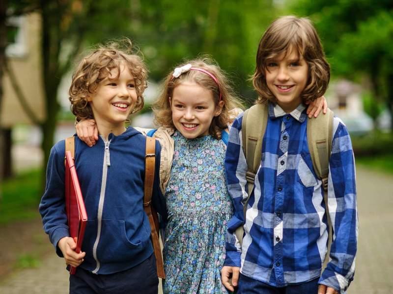 enfants premier jour école
