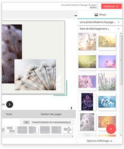 logiciel création album photo