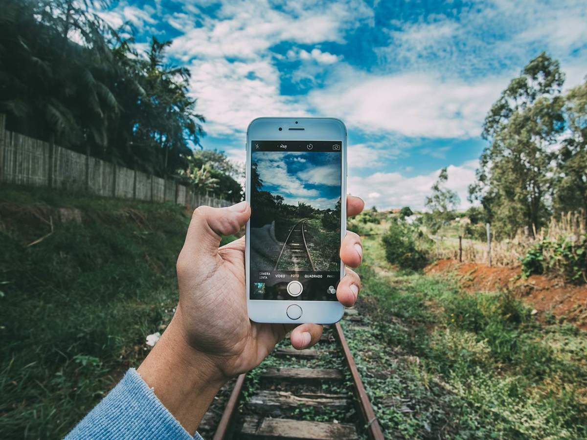 photo smartphone paysage