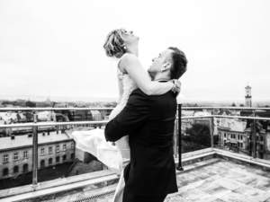 sourire mariés