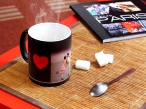 cadeau personnalisé : mug photo