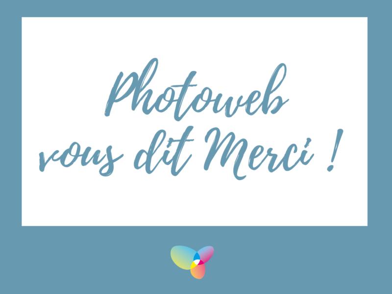 Photoweb élu service client année 2018