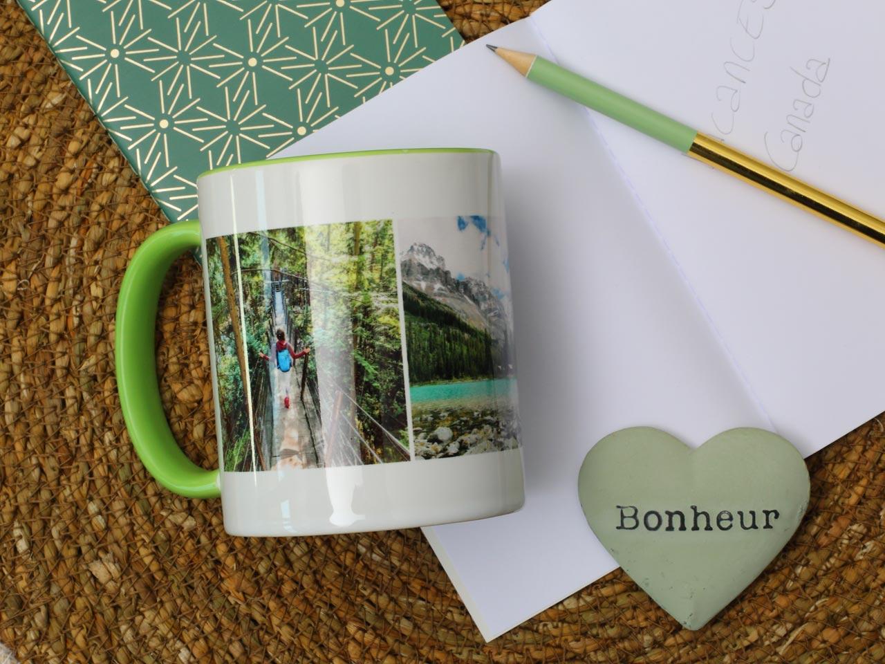 cadeau mug photo