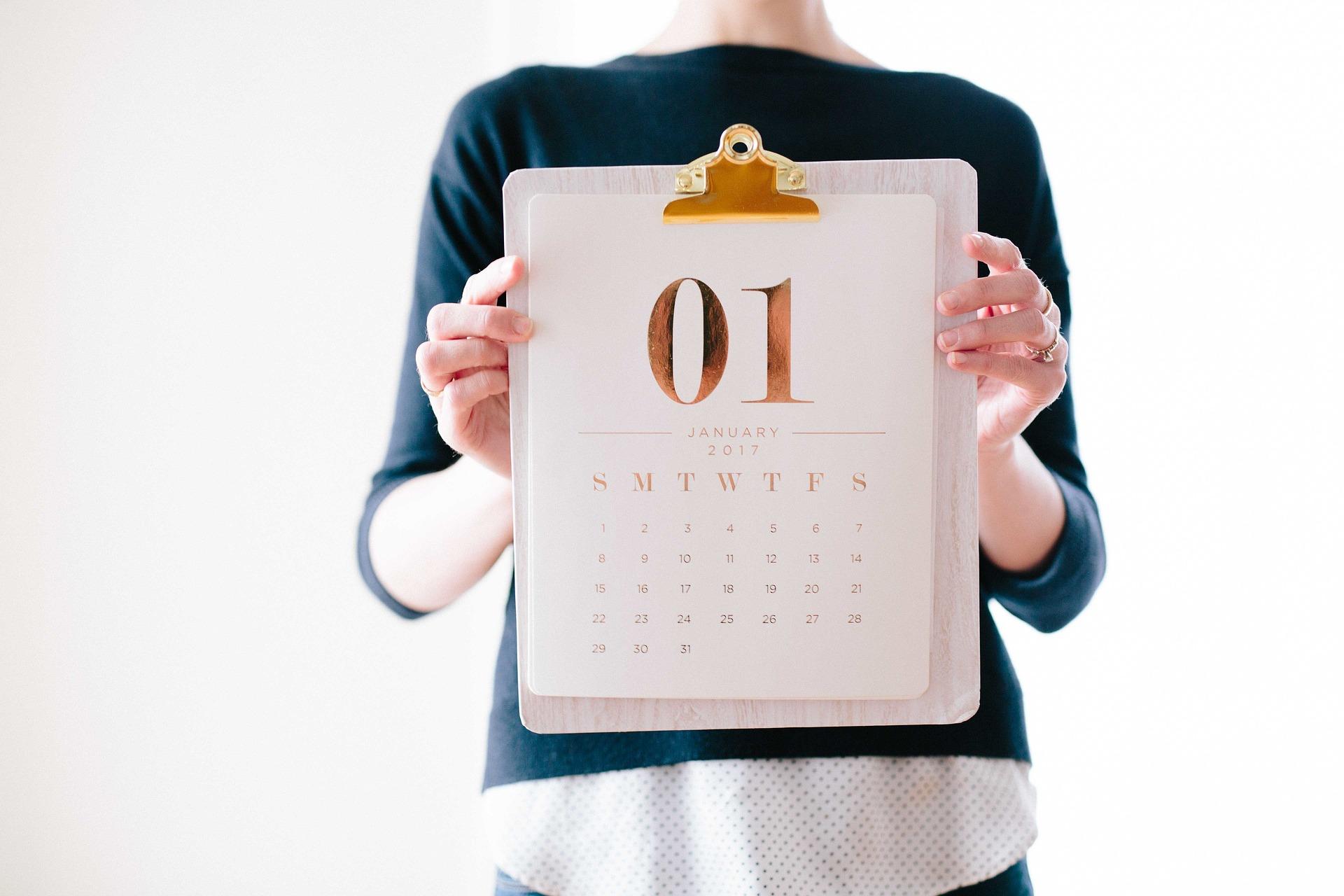 calendrier photo pas cher 2018
