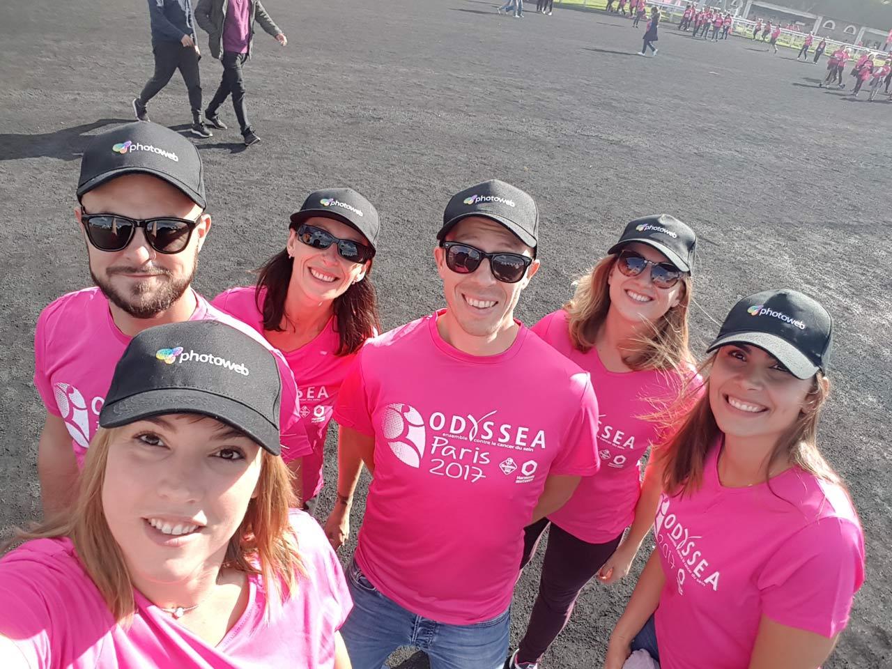 équipe photoweb odyssea