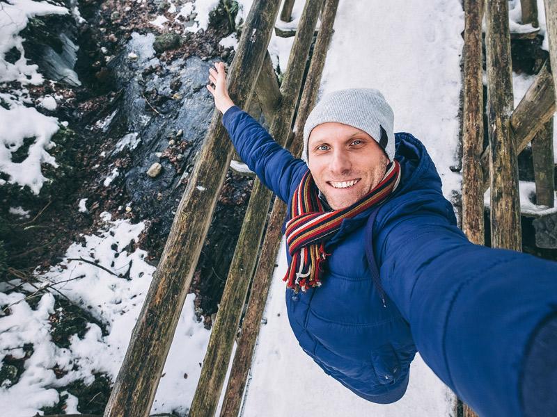 réussir photo montagne neige