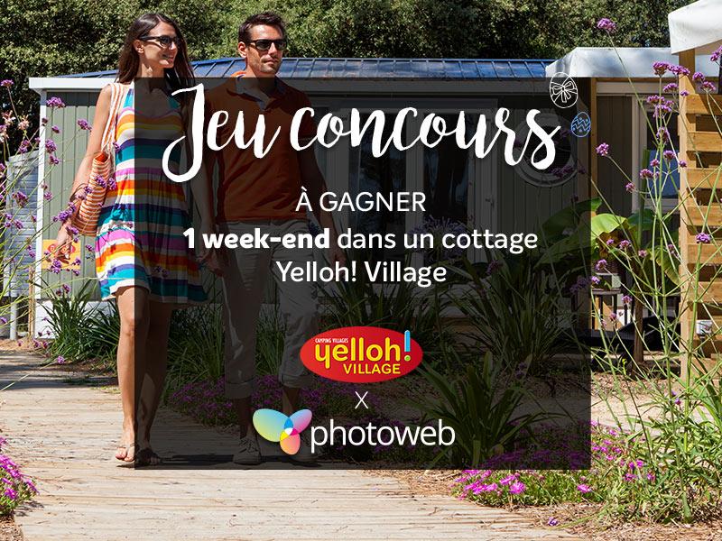 Jeu Concours Paques Yelloh Village Photoweb