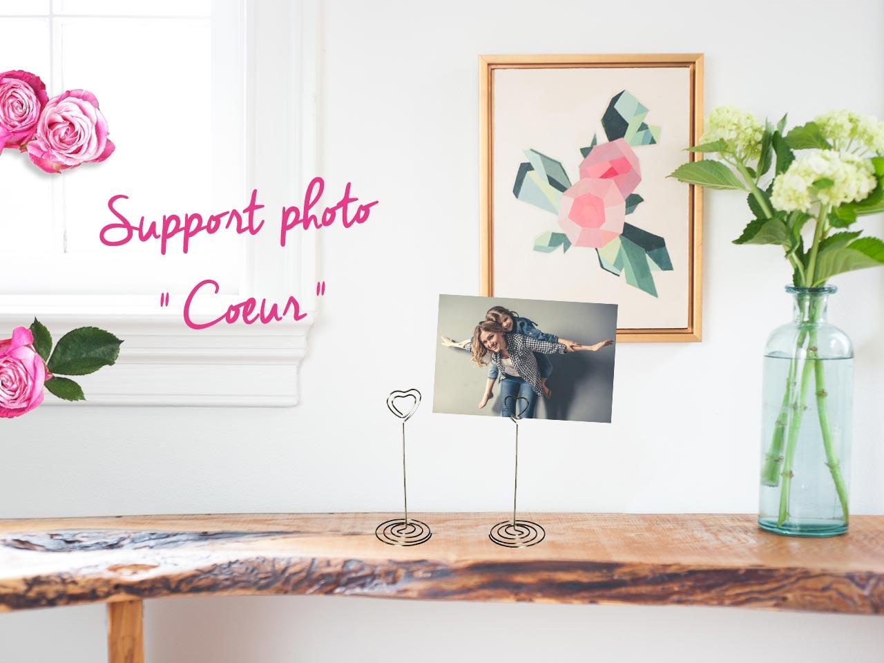 cadeau fête des mères à fabriquer : support photo facile