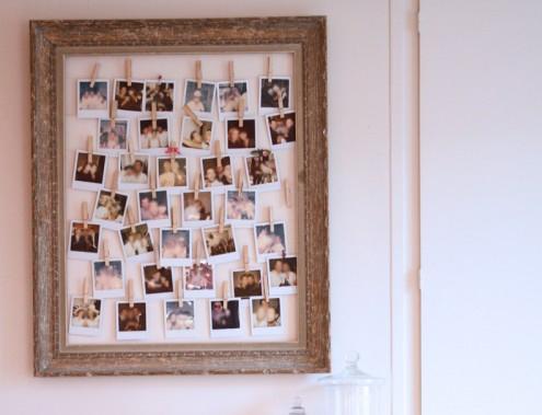 cadre photo original 5 id es pour sublimer vos photos. Black Bedroom Furniture Sets. Home Design Ideas