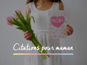 citation pour maman