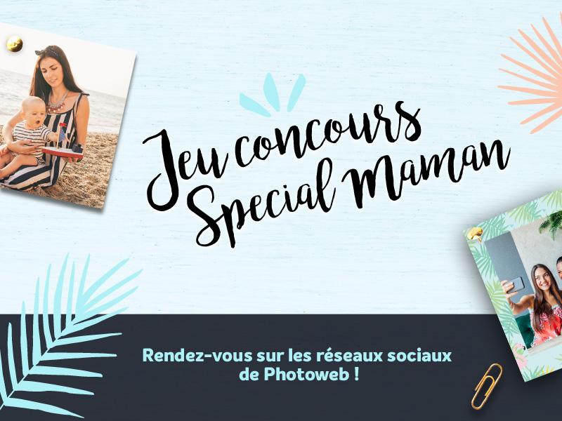 Jeu concours fête des mères photoweb