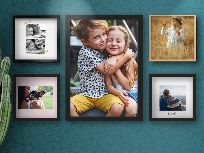Posters encadrés photoweb