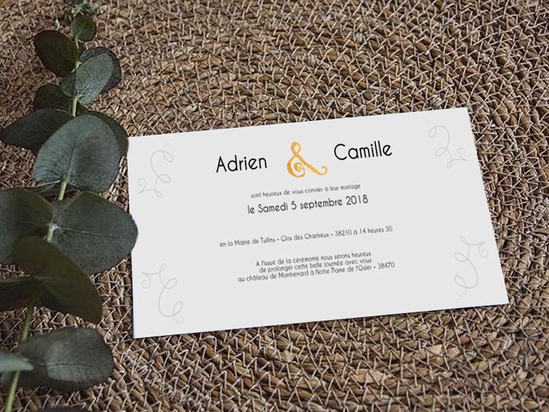 texte faire part mariage faites le plein d 39 id es pour le grand jour. Black Bedroom Furniture Sets. Home Design Ideas