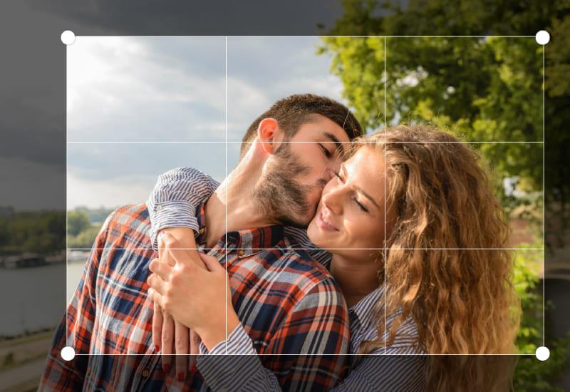 comment recadrer et faire pivoter ou redimensionner une photo personnalisée en ligne