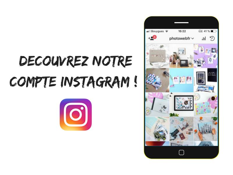 compte instagram photoweb