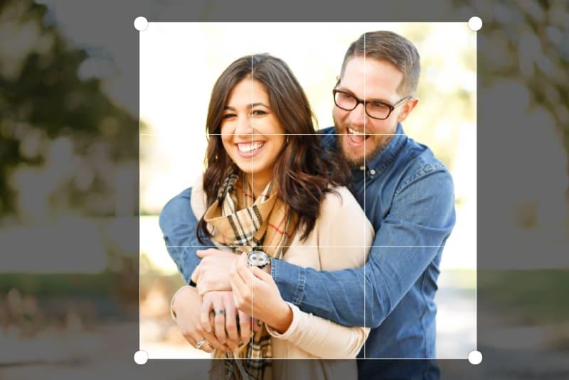modifier photo en ligne et réaliser des modifications de base comme faire pivoter ou rogner votre photo