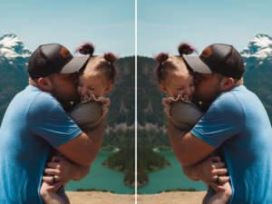 effet miroir photo en ligne