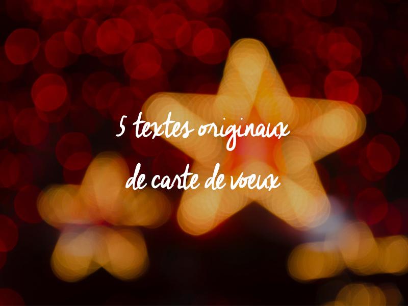Texte De Voeux Original Nos Inspirations Pour Vous Aider