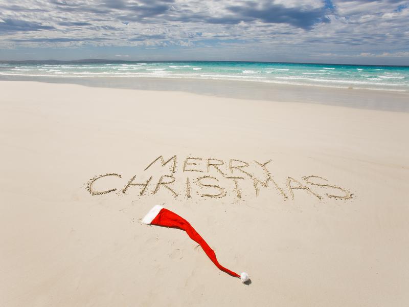 Noel Australie plage christmas