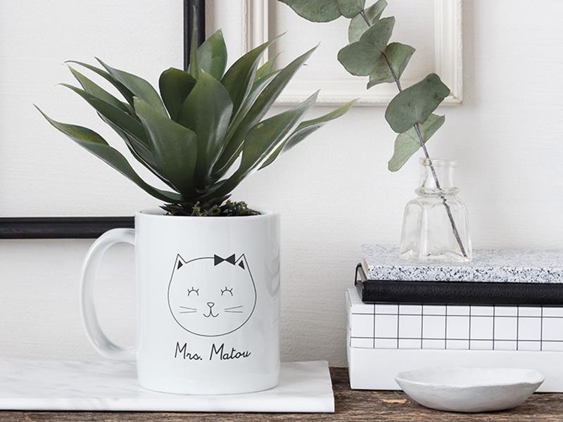 mug plante
