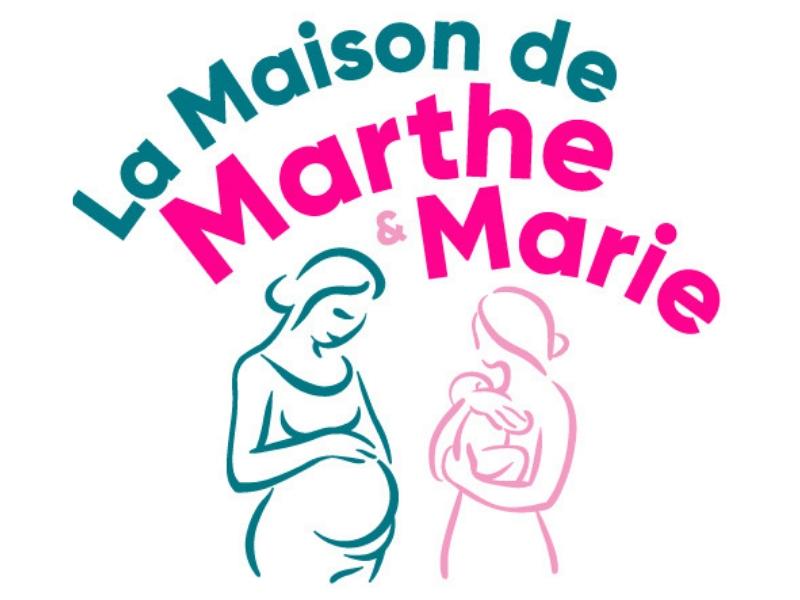 logo la maison de marthe et marie