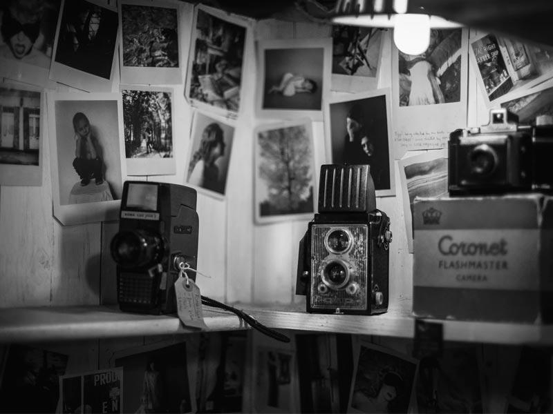 photo noir et blanc vintage