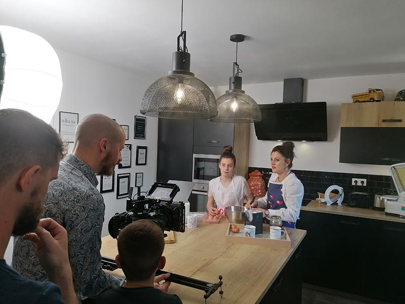 Photo tournage spot TV